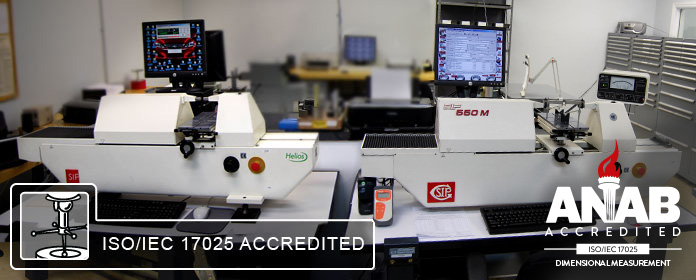 ISO/IEC 17025 Accredited