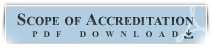 Scope of Accreditation pdf Download