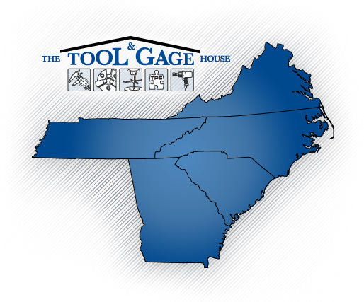 Tool and Gage House Outside Sales Map