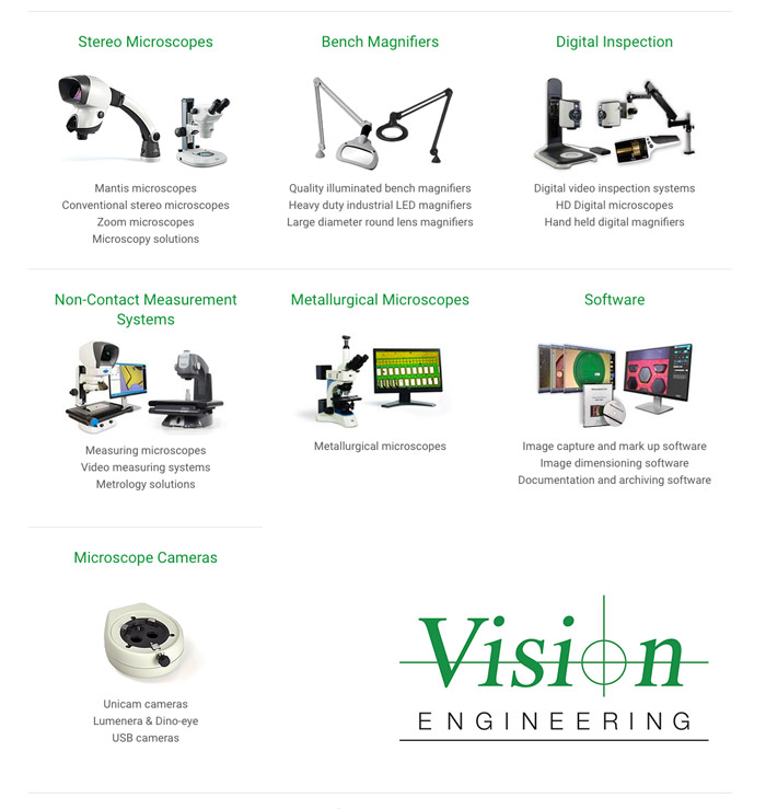 vision engineering products